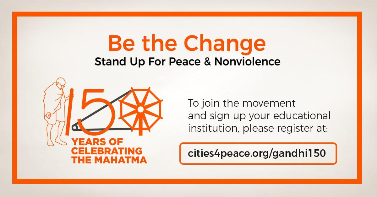 Gandhi150 - Stand Up for Nonviolence (ACR H 2019).png