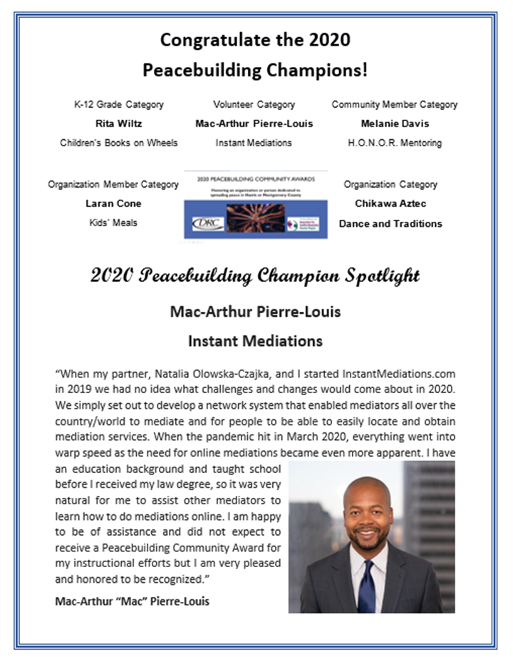 Mac-Arthur Pierre-Louis - Peacebuilding Champion Spotlight rev.png